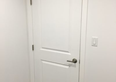 Bathroom Reno Door