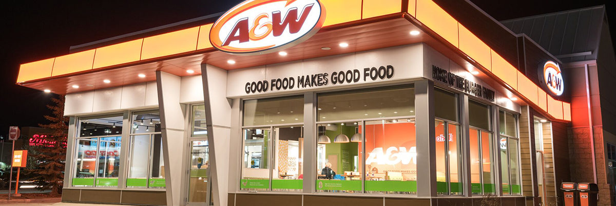 Commercial Construction Project - A&W Beacon Hill
